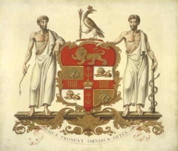 Crest of the Royal College of Surgeons of England